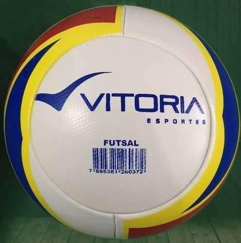 kit 2 Bolas De Futsal Profissionais em Pu Oficiais  - Vitoria Esportes