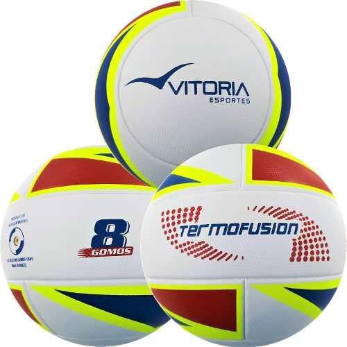 Kit 3 Bolas Futsal Vitoria Oficial Termofusion MX 1000 Macia  - Vitoria Esportes