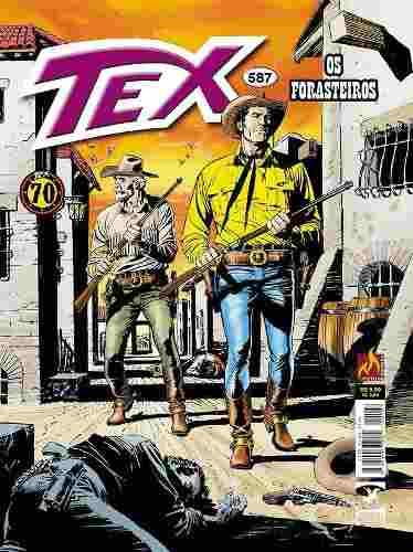 Hq Gibi - Tex Mensal 587 - Os Forasteiros  - Vitoria Esportes