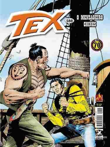 Hq Gibi - Tex Mensal 588 - O Mensageiro Chinês  - Vitoria Esportes