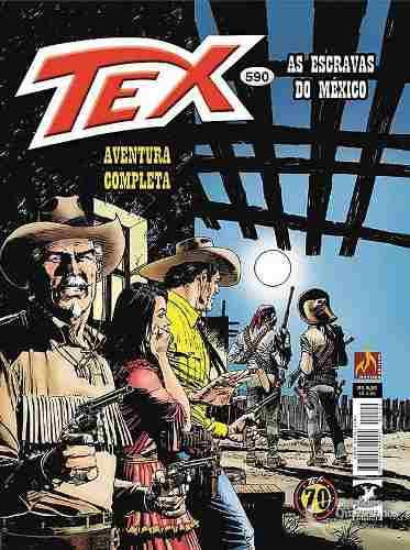 Hq Gibi - Tex Mensal 590 - As Escravas Do México  - Vitoria Esportes