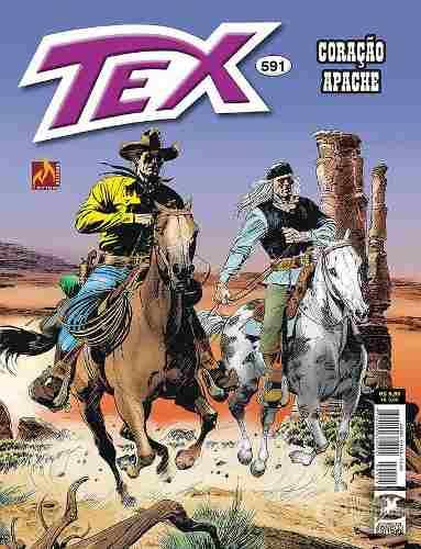 Hq Gibi - Tex Mensal 591 - Coração Apache  - Vitoria Esportes