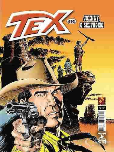 Hq Gibi - Tex Mensal 592 - Johnny, O Selvagem  - Vitoria Esportes