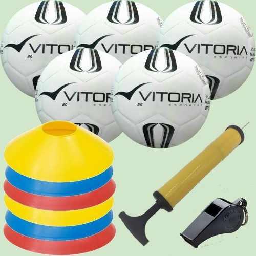 Kit Escolinha De Futsal Sub 9 Pré-mirim - Bola Prata Tam 50
