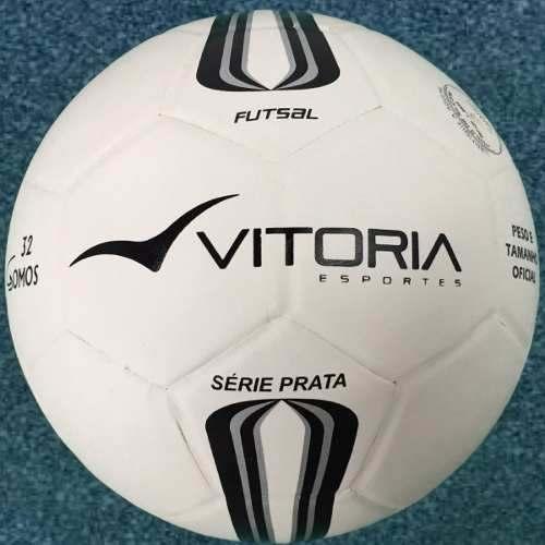 Bola Futsal Vitoria Oficial Prata Max 500  - Vitoria Esportes