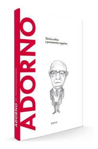 Descobrindo A Filosofia - Adorno Ed.54 - Salvat  - Vitoria Esportes