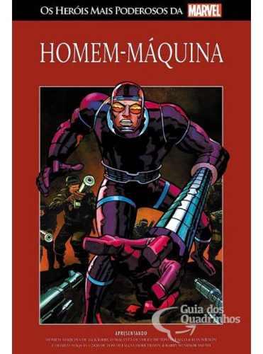 Heróis Mais Poderosos Da Marvel N° 95 Homem-máquina Salvat  - Vitoria Esportes