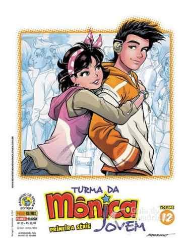 Turma Da Mônica Jovem - Primeira Série N° 12  - Vitoria Esportes