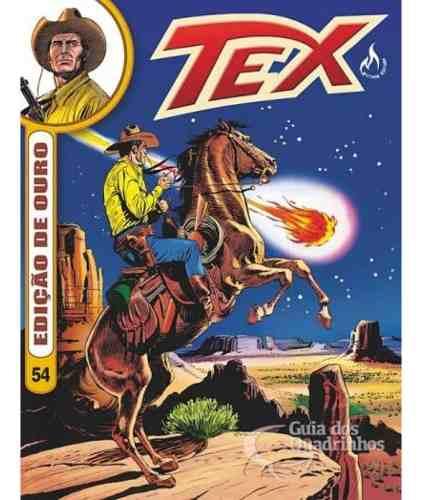 Tex Ouro Edição N° 54 Hq Gibi Quadrinhos  - Vitoria Esportes