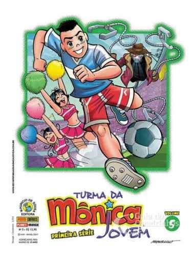 Turma Da Mônica Jovem - Primeira Série N° 5  - Vitoria Esportes