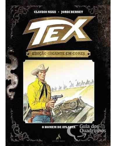 Tex Gigante Em Cores N° 10 - O Homem De Atlanta - Capa Dura  - Vitoria Esportes