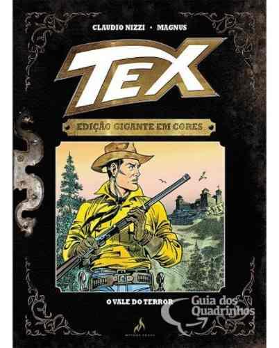 Tex Gigante Em Cores N° 9 - O Vale Do Terror - Capa Dura  - Vitoria Esportes