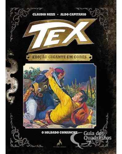 Tex Gigante Em Cores N° 8 - O Soldado Comanche - Capa Dura  - Vitoria Esportes