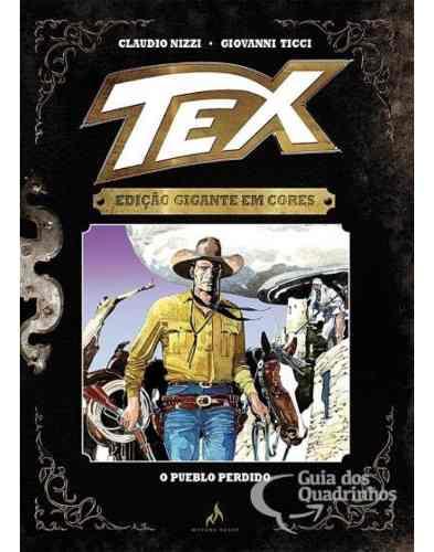 Tex Gigante Em Cores N° 7 - O Pueblo Perdido - Capa Dura  - Vitoria Esportes