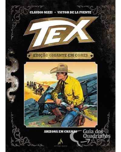 Tex Gigante Em Cores N° 5 - Arizona Em Chamas - Capa Dura  - Vitoria Esportes