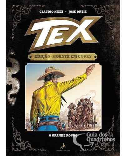 Tex Gigante Em Cores N° 6 - O Grande Roubo - Capa Dura  - Vitoria Esportes