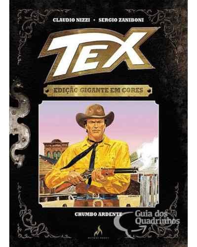 Tex Edição Gigante Em Cores N° 4 Chumbo Ardente - Capa Dura  - Vitoria Esportes