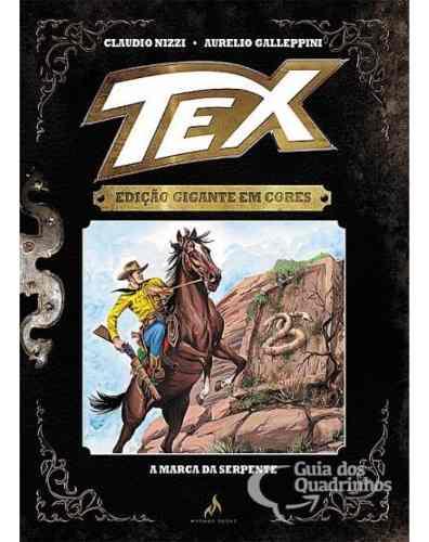 Tex Edição Gigante Em Cores N° 3 - A Marca Da Serpente  - Vitoria Esportes