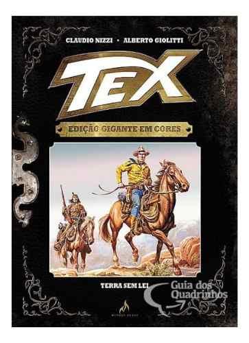 Tex Edição Gigante Em Cores N° 2 - Terra Sem Lei - Capa Dura  - Vitoria Esportes