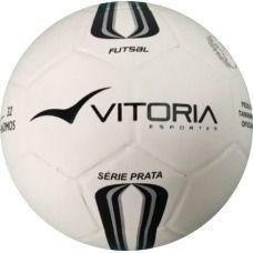 Bola Futsal Vitória Oficial Prata Max 500 - 3 Unidades