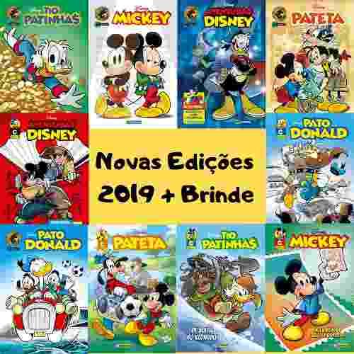 50 Edições Disney 2019 Numero 0 A 3 Lançamento P/ Atacado  - Vitoria Esportes