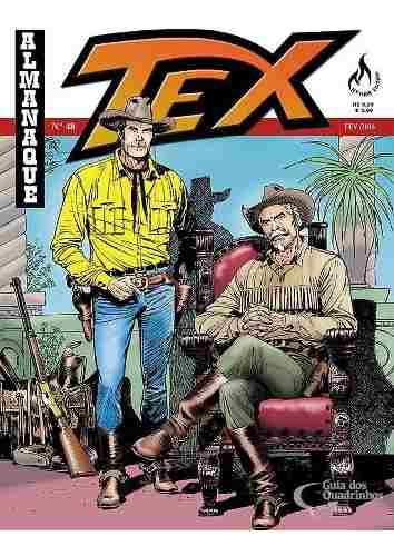 Hq Gibi - Tex Almanaque 48 - A Criatura  - Vitoria Esportes