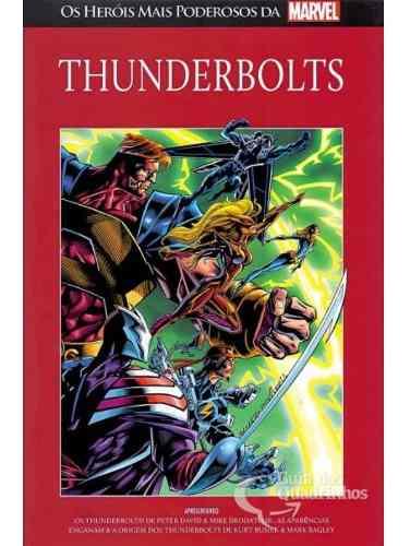 Os Heróis Mais Poderosos Da Marvel - Thunderbolts N° 92  - Vitoria Esportes