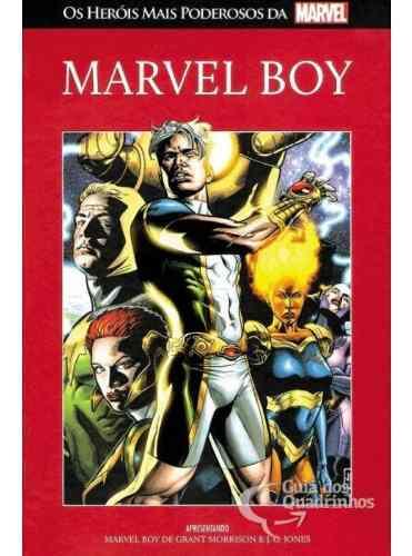 Heróis Mais Poderosos Da Marvel - Marvel Boy N° 89 - Salvat  - Vitoria Esportes
