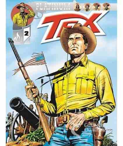 Hq Gibi - Tex Platinum N° 2 O Ouro Dos Confederados - Mythos  - Vitoria Esportes