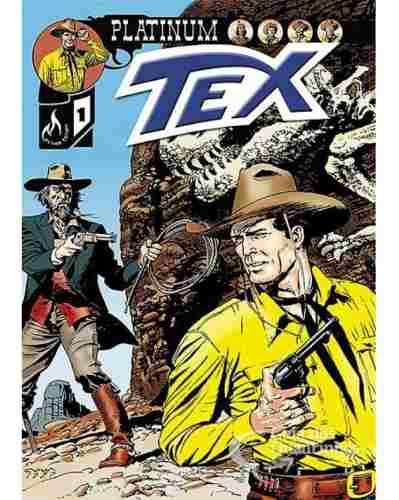 Hq Gibi - Tex Platinum N° 1 O Caçador De Fósseis - Mythos  - Vitoria Esportes