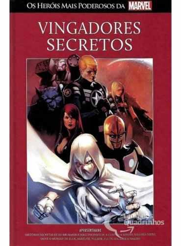 Heróis Mais Poderosos Da Marvel - Vingadores Secretos N° 96  - Vitoria Esportes