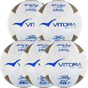 Kit 5 Bolas Futsal Vitoria Brx Max 450 Sub 15 (13/15 Anos)