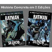 Batman Silêncio Parte 1 E 2 Completo Capa Dura Lacrado