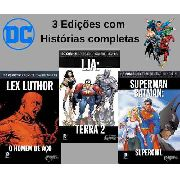 Kit Dc Eaglemoss Batman Superman Lja 3 Ed. Novos Lacrados