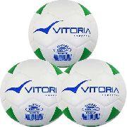 Kit 3 Bolas Futsal Vitoria Brx Max 50 Sub 9 (6 A 8 Anos)