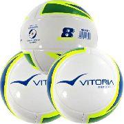 3 Bolas Vitoria Oficial Futebol Sete / Society Profissional