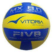 Bola Volei Oficial Vitoria Mx 8.0 Pu Microfibra Ultra Macia