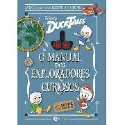 Livro Capa Dura - O Manual Dos Exploradores Curiosos - Disney