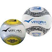 Kit Bola Futsal + Bola Campo Vitória Oficial Pu 6 Gomos