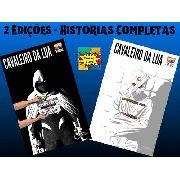 Kit Hq Gibi Marvel Cavaleiro Da Lua Marvel Edições 4 E 5