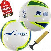 Bola Futebol Sete / Society Liga Com 2 Unid Adulto Oficial