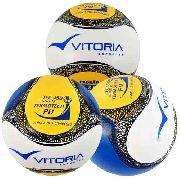 Bola Futsal Vitoria Termotec Sub 15 Kit Com 3 (13 A 15 Anos)