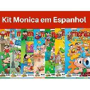 Kit 5 Hq Gibi Turma Da Mônica Espanhol Mónica Y Sus Amigos