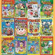 Kit 30 Hqs Gibi Revista Turma Da Mônica Novas De Banca