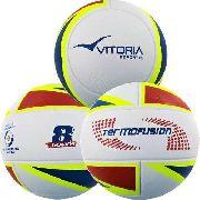 Kit 3 Bolas Futsal Vitoria Oficial Termofusion MX 1000 Macia
