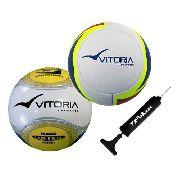 Kit 2 Bolas Futsal Oficiais Em Pu - Vitoria Esportes