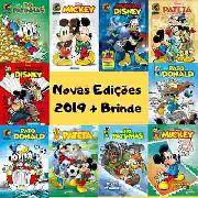 30 Edições Disney 2019 Nº 0, 1, 2 E 3 Lançamento P/ Revenda