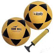 2 Bolas Futsal Vitória Oficial Star 1000 Adulto Profissional