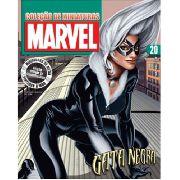 Marvel Figurines Edição 20 - Miniatura Gata Negra