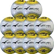 kit 10 Bolas Barata Futsal Vitoria Oficial Termotec Pu atacado